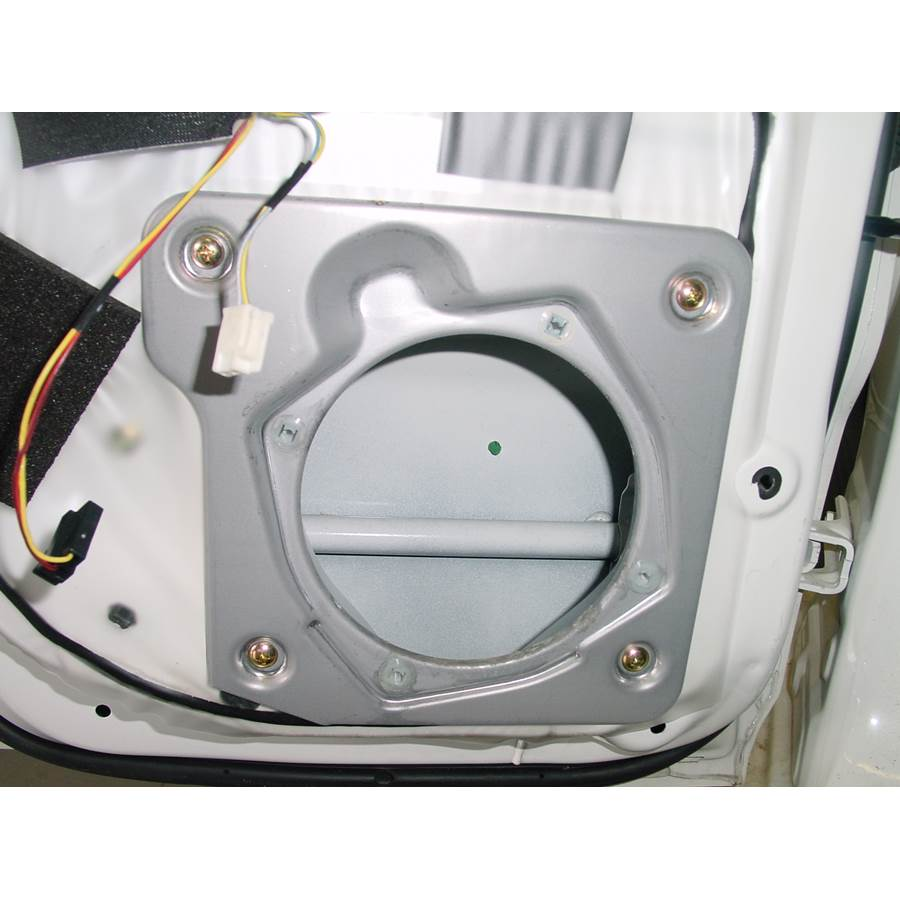 2004 Mitsubishi Montero Rear door speaker removed