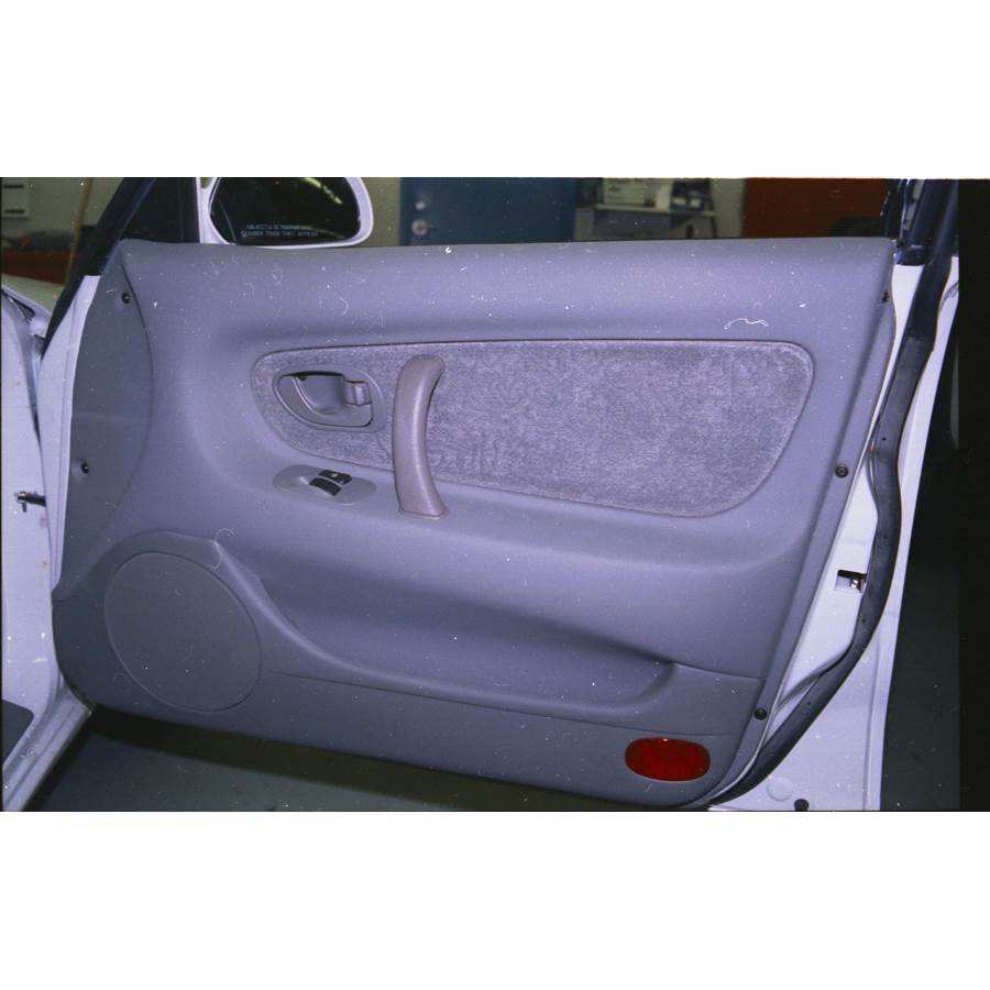 1994 Mitsubishi Galant Front door speaker location