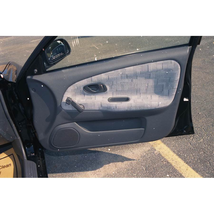 1997 Mitsubishi Mirage Front door speaker location