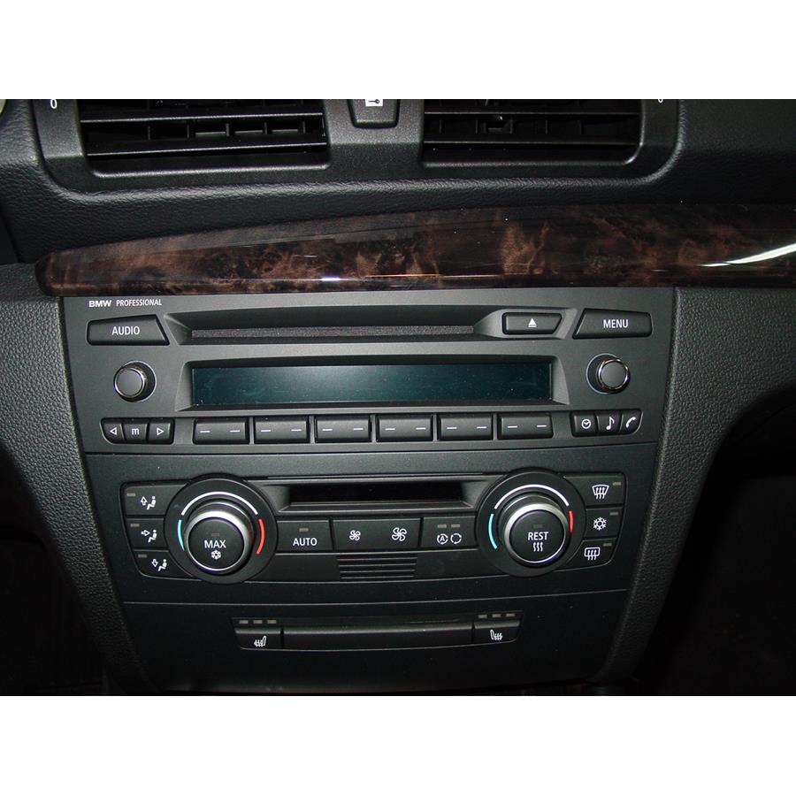 2013 BMW 1 Series Factory Radio