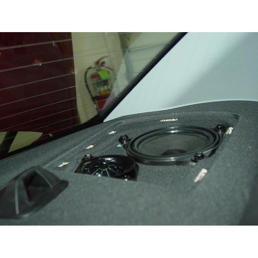 2013 BMW 1 Series Rear deck speaker