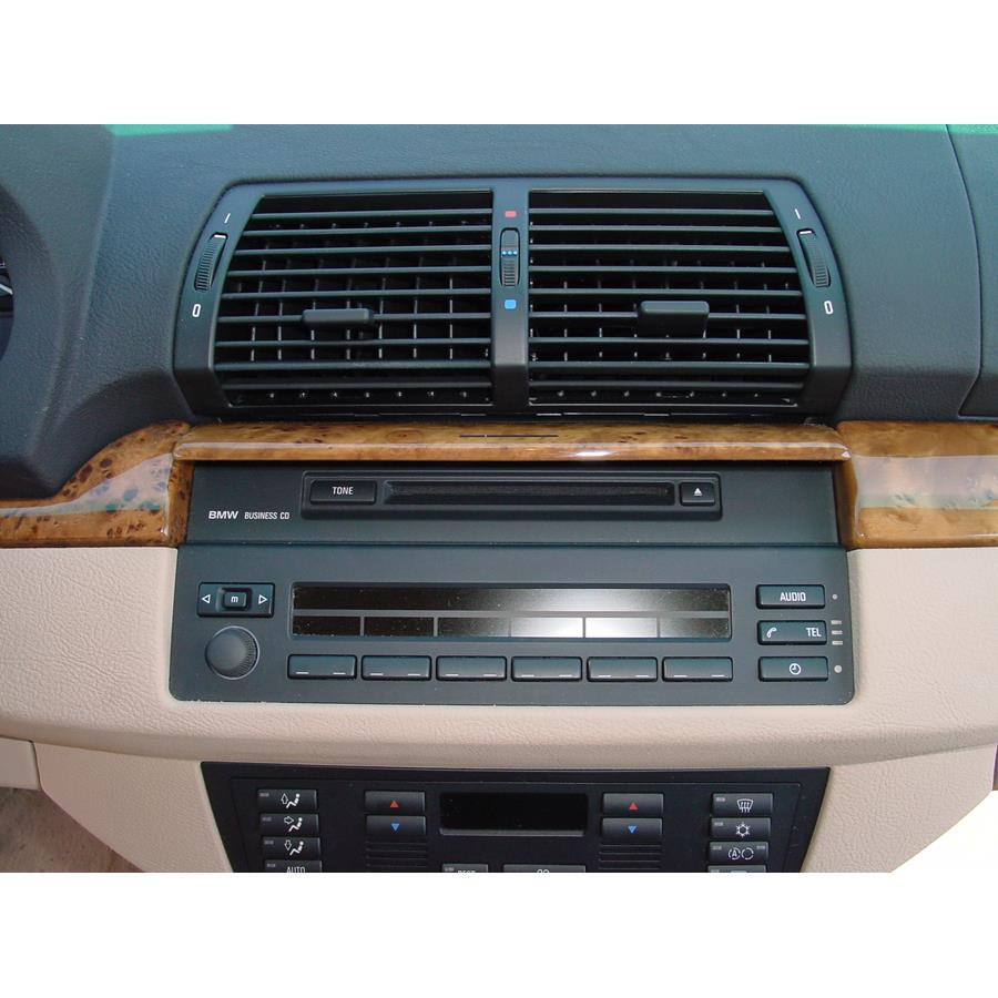 2005 BMW X5 Factory Radio