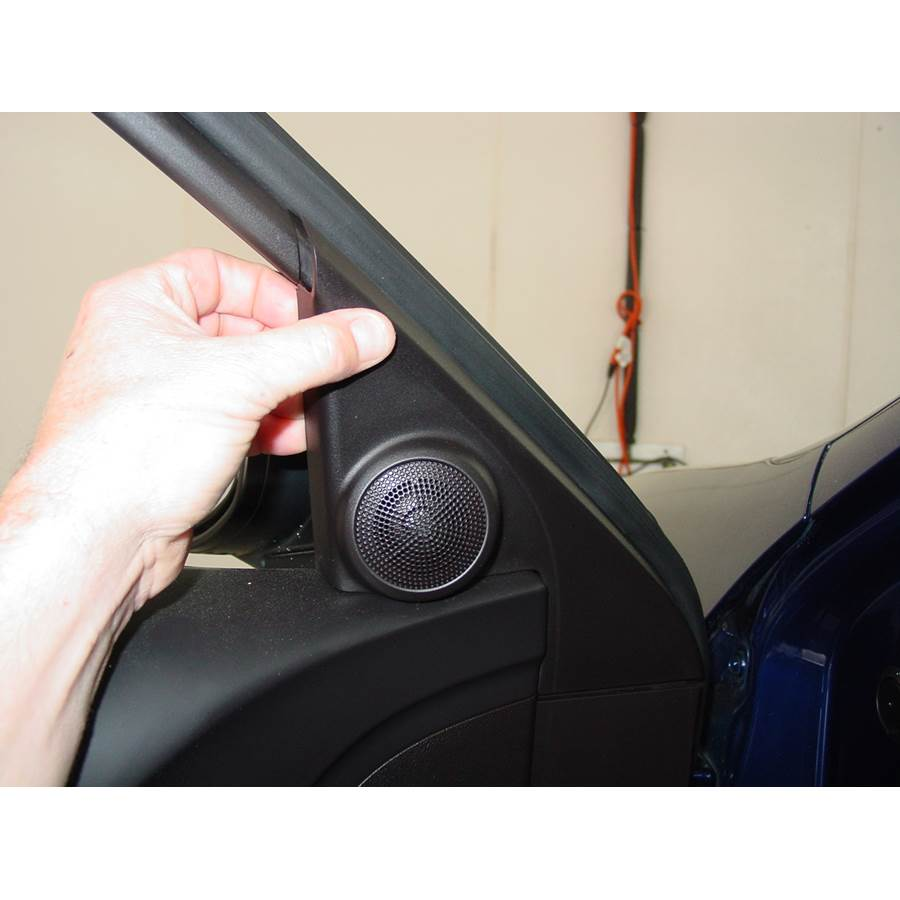 2010 Acura TSX Front door tweeter location