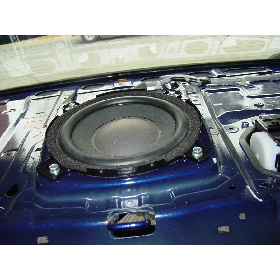 2010 Acura TSX Rear deck center speaker