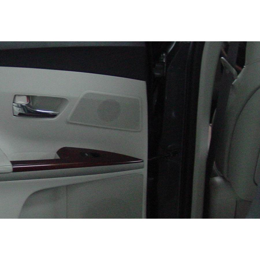 2014 Toyota Venza Rear door tweeter location