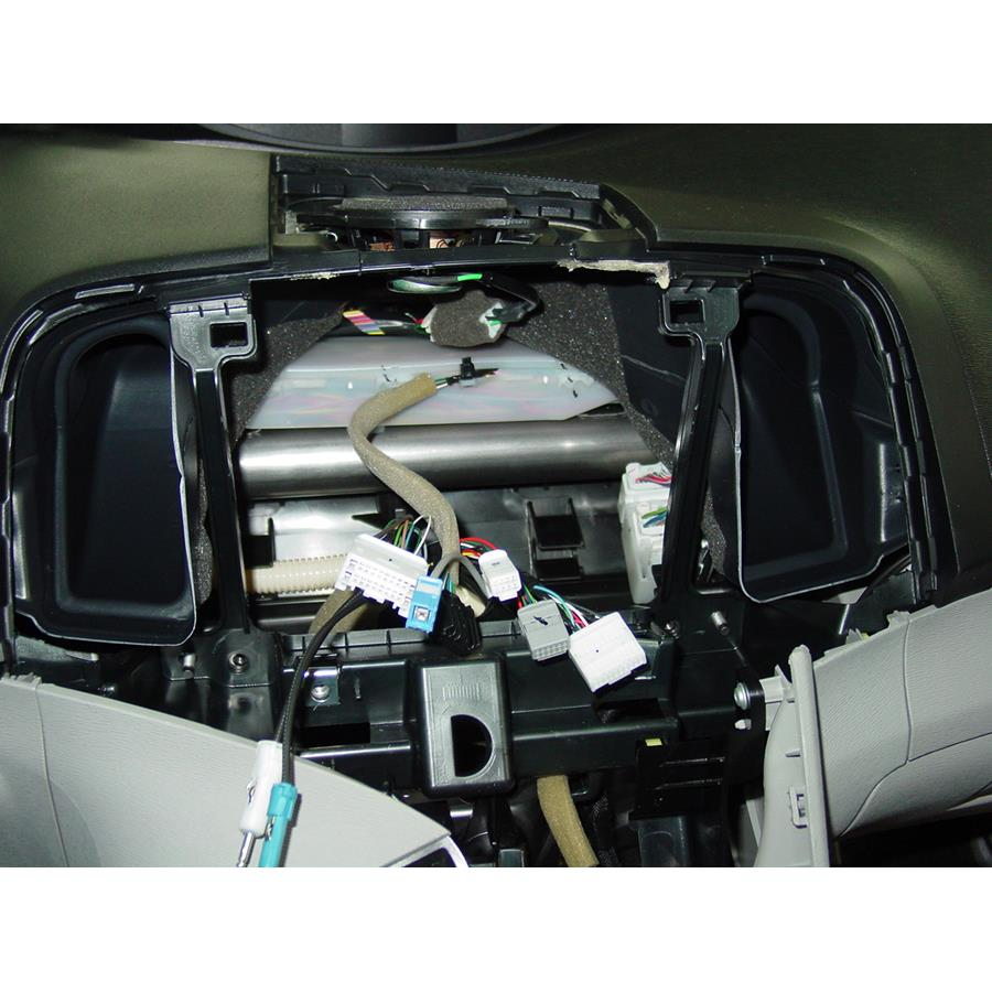 2015 Toyota Venza Factory radio removed