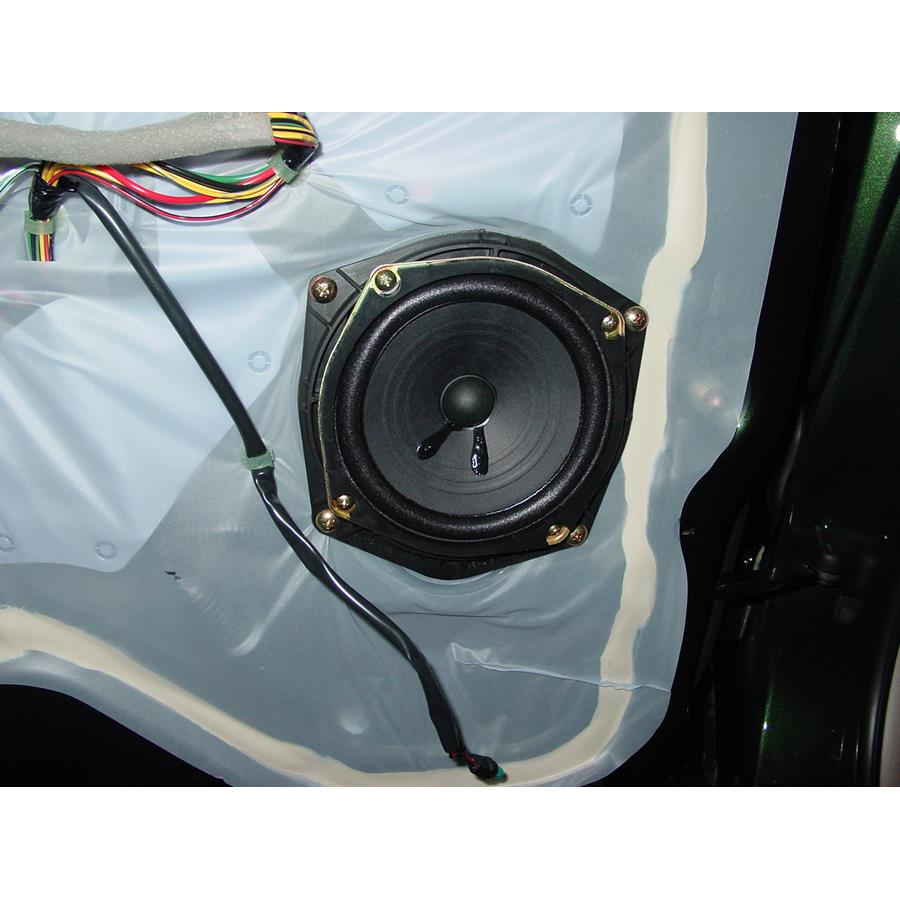 2004 Acura 3.5RL Rear door speaker