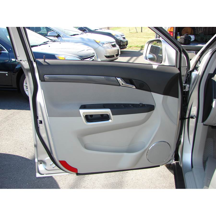 2009 Saturn VUE Front door speaker location
