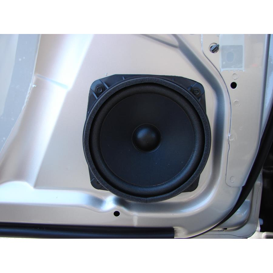 2009 Saturn VUE Front door woofer