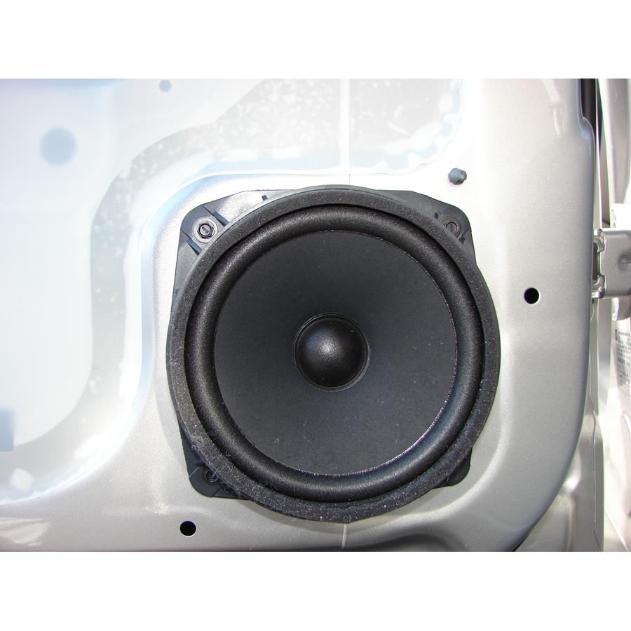 2009 Saturn VUE Rear door speaker