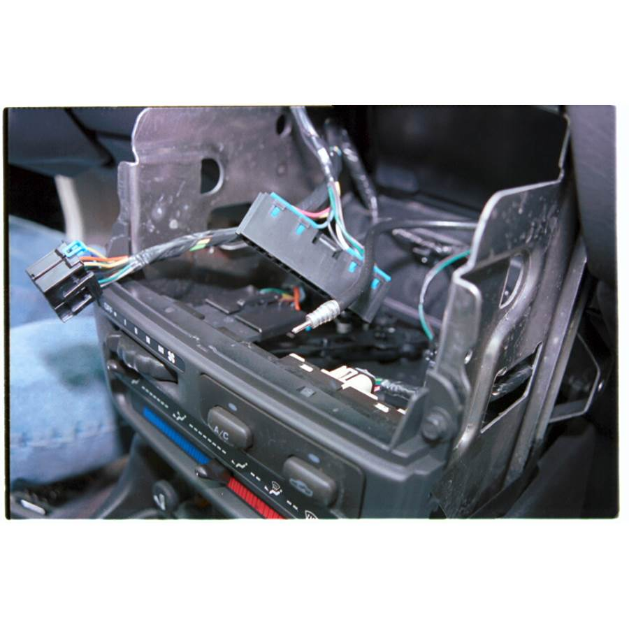 1998 Saturn SC2 Factory radio removed