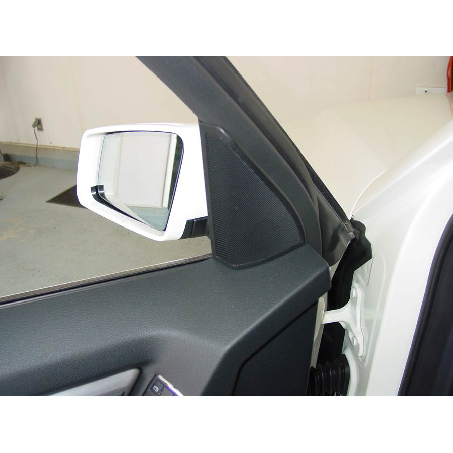 2015 Mercedes-Benz GLK-Class Front door tweeter location