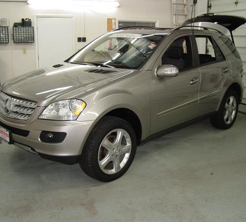 2010 Mercedes-Benz ML450 Exterior