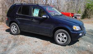 2002 Mercedes-Benz ML500 Exterior