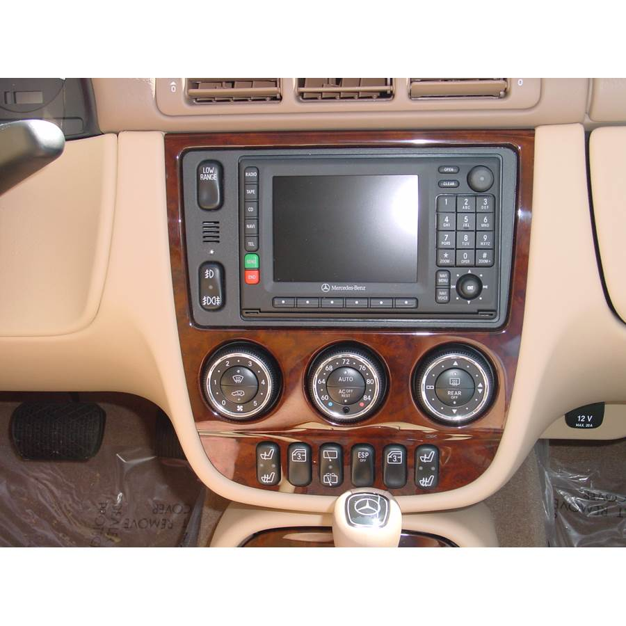 2000 Mercedes-Benz ML320 Factory Radio