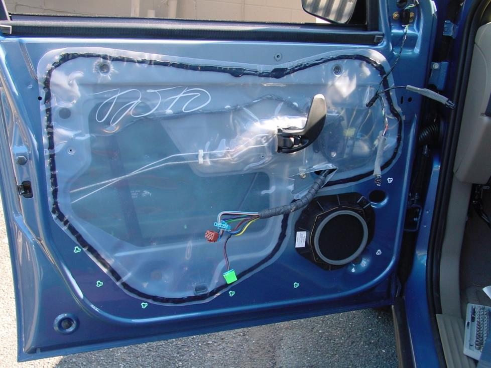 pontiac aztek front door (Crutchfield research photo)
