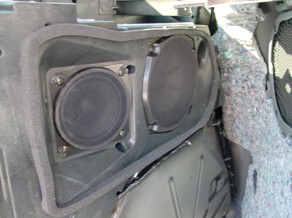 pontiac aztek rear side panel speakers