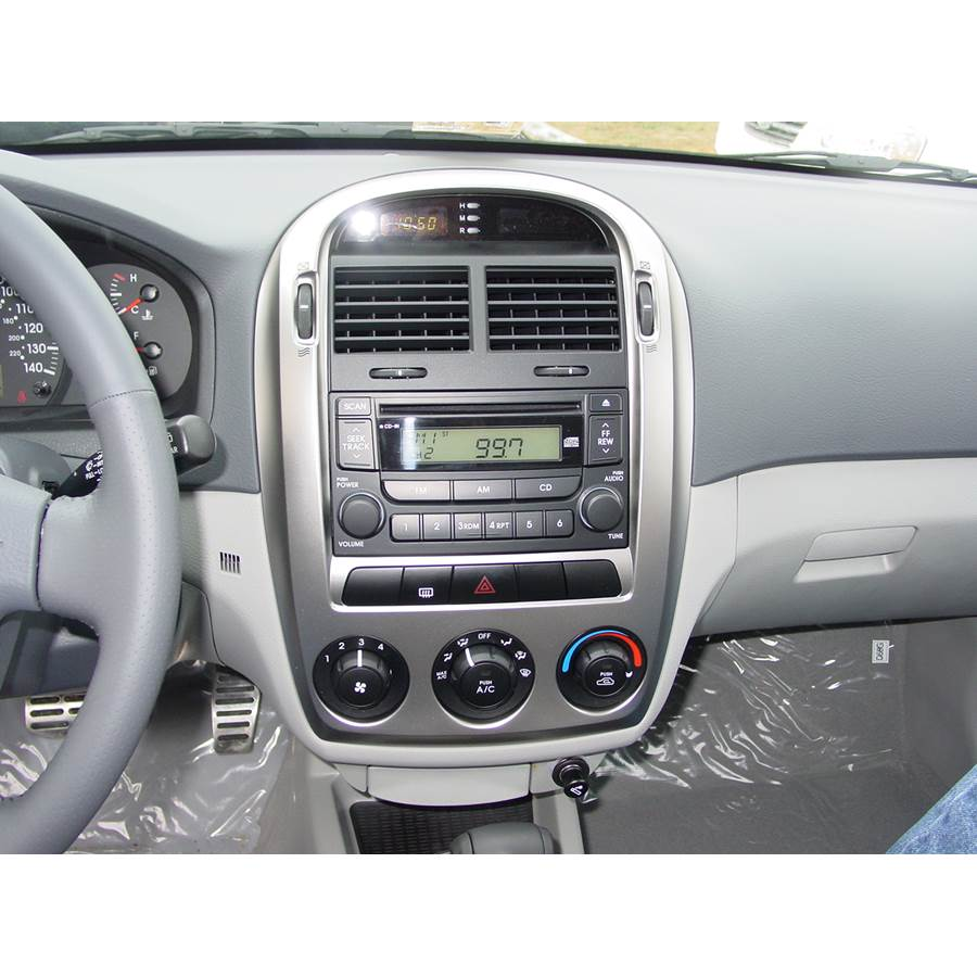 2006 Kia Spectra5 Other factory radio option