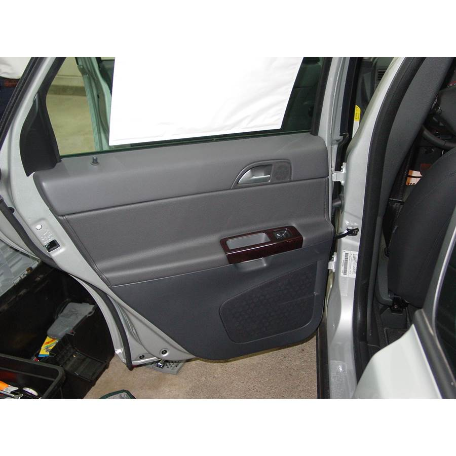 2008 Volvo S40 Rear door speaker location
