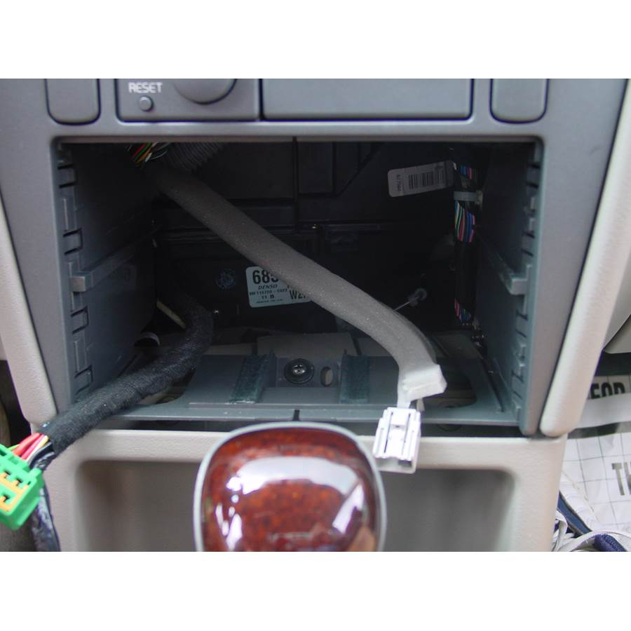 2001 Volvo V40 Factory radio removed