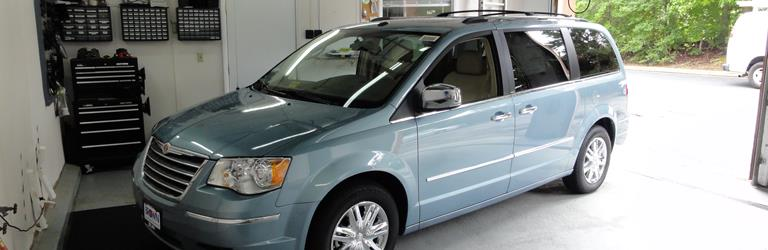 2011 Chrysler Town and Country Exterior