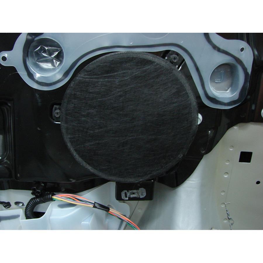 2010 Chrysler Sebring Rear side panel speaker