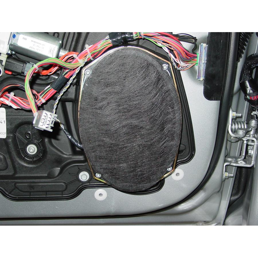 2010 Chrysler Sebring Front door speaker