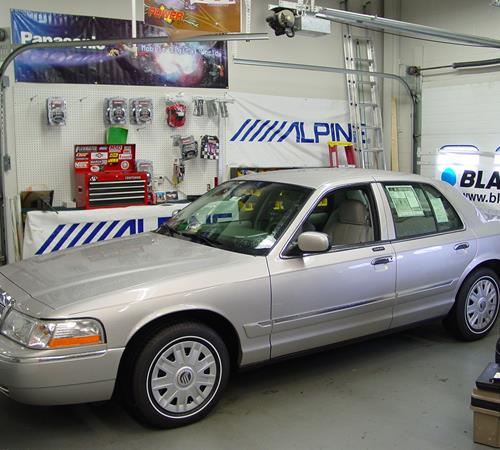 2009 Mercury Grand Marquis Exterior