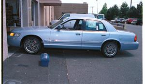 1999 Mercury Grand Marquis Exterior