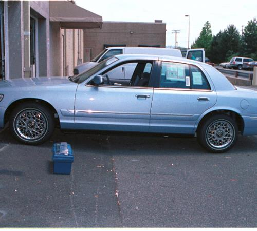 2001 Mercury Grand Marquis Exterior
