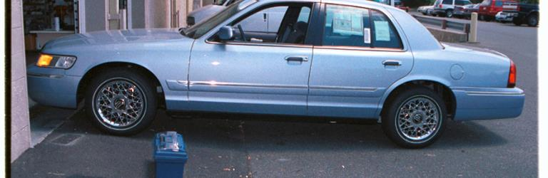 1998 Mercury Grand Marquis Exterior