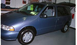 2001 Mercury Villager Exterior