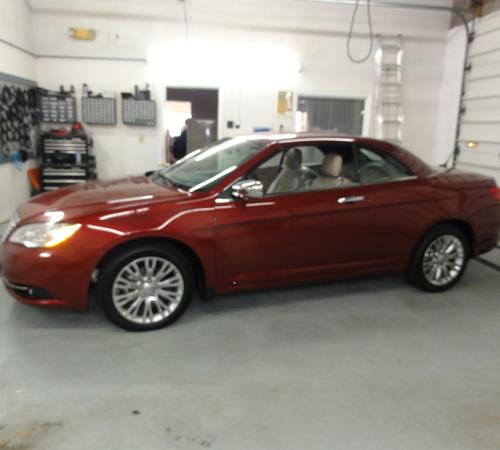 2011 Chrysler 200 Exterior