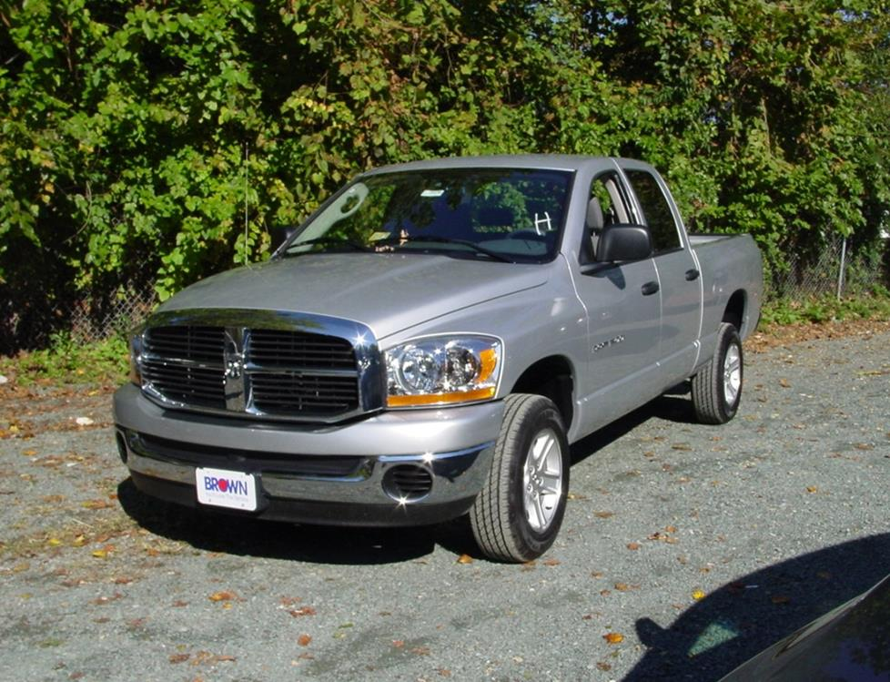 2008 dodge ram 1500 bolt pattern