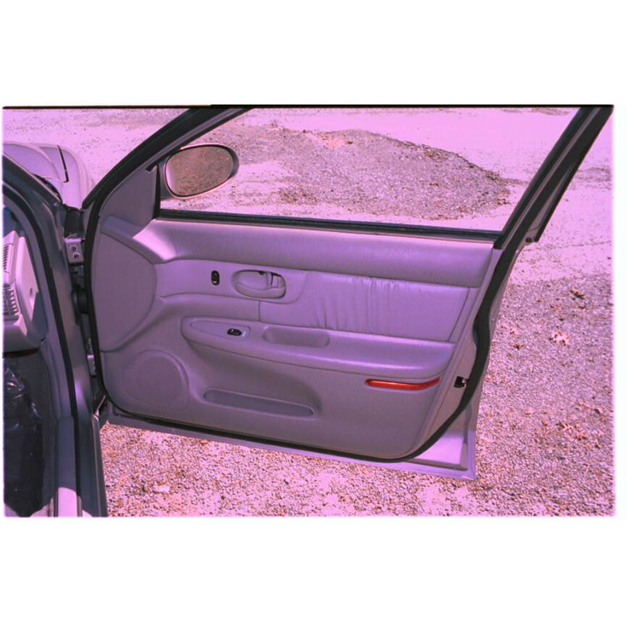 1998 Buick Century Front door speaker location