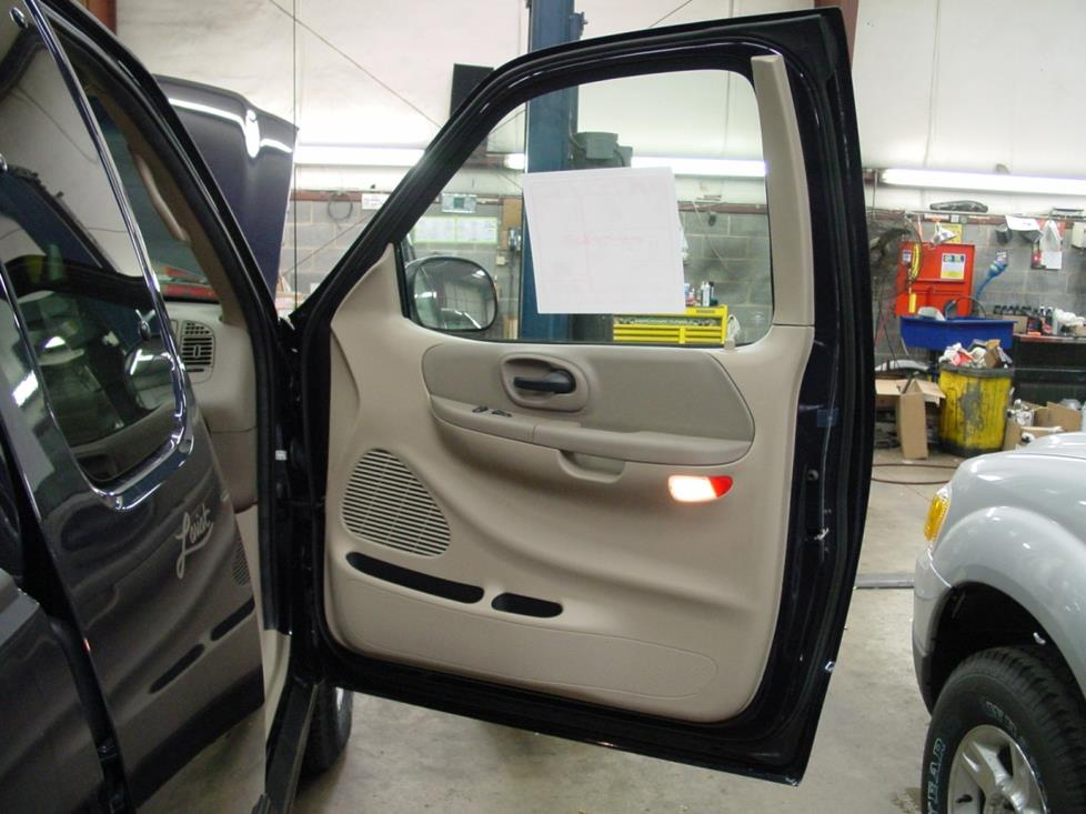 ford f-150 front door power windows