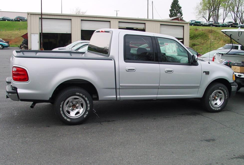 ford f-150 supercab crew cab
