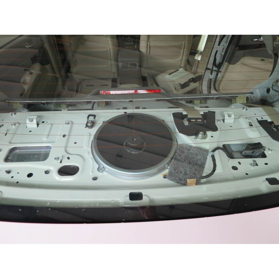 2012 Infiniti G Rear deck center speaker
