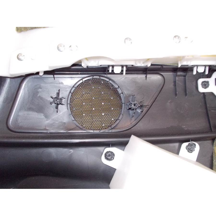 2012 Infiniti G Rear side panel speaker removed