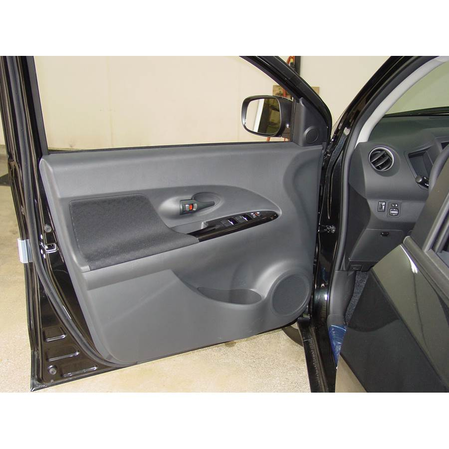 2008 Scion xD Front door speaker location