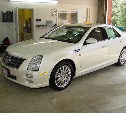 2010 Cadillac STS Exterior