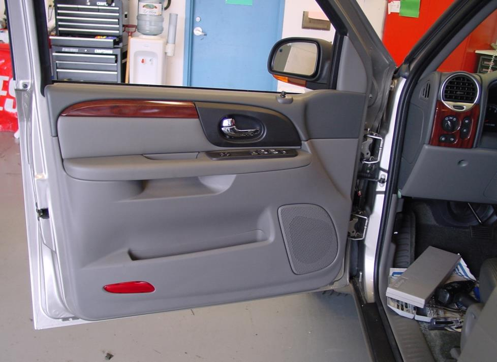 gmc envoy front door