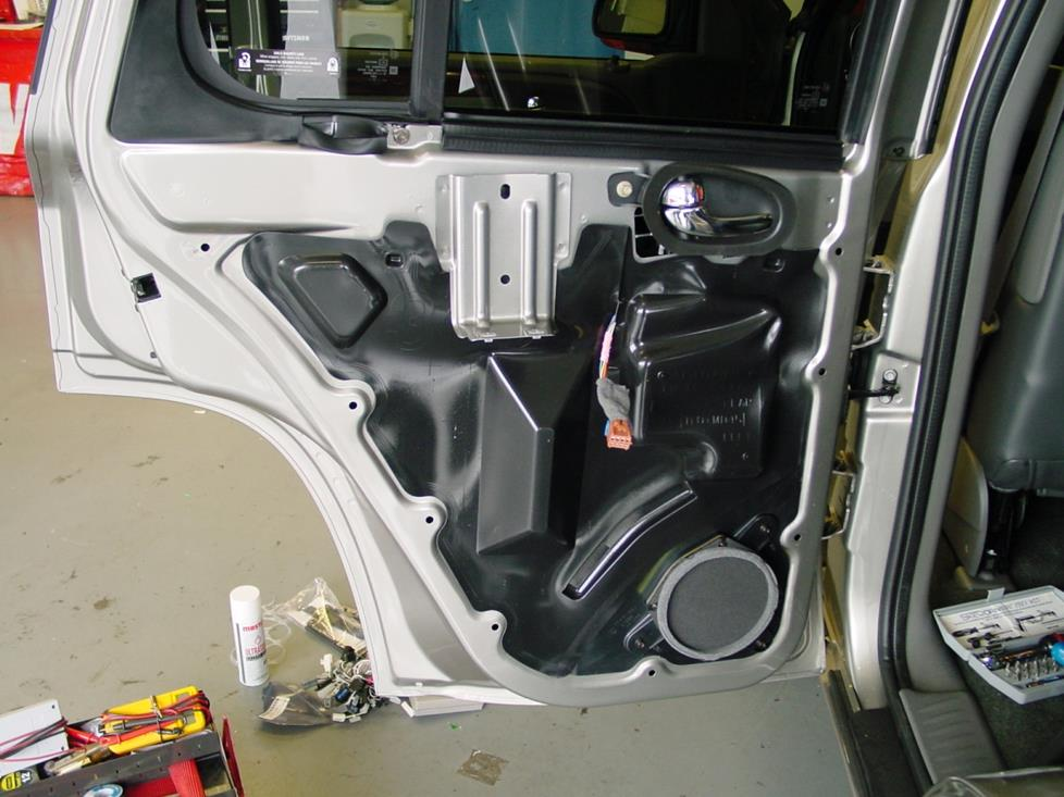 gmc envoy rear door