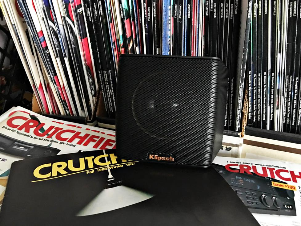 Klipsch Groove at Crutchfield offices