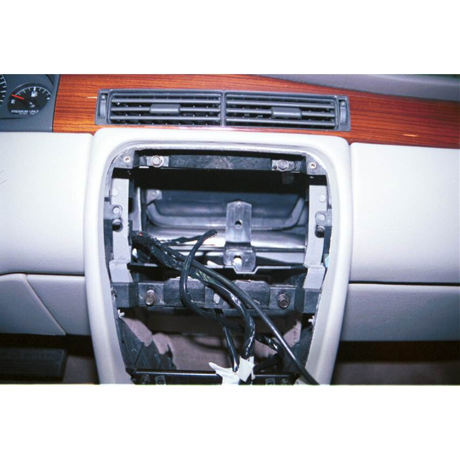 1999 Cadillac Eldorado Factory radio removed