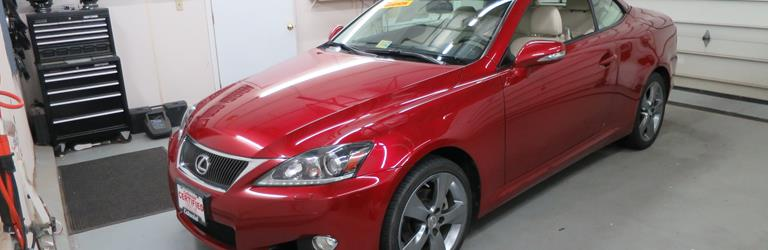 2010 Lexus IS250C Exterior