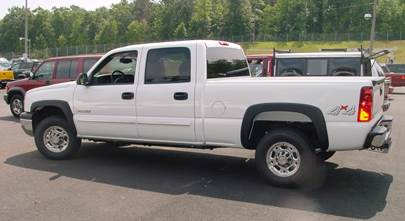 2003-2007 Chevy Silverado and GMC Sierra crew cab
