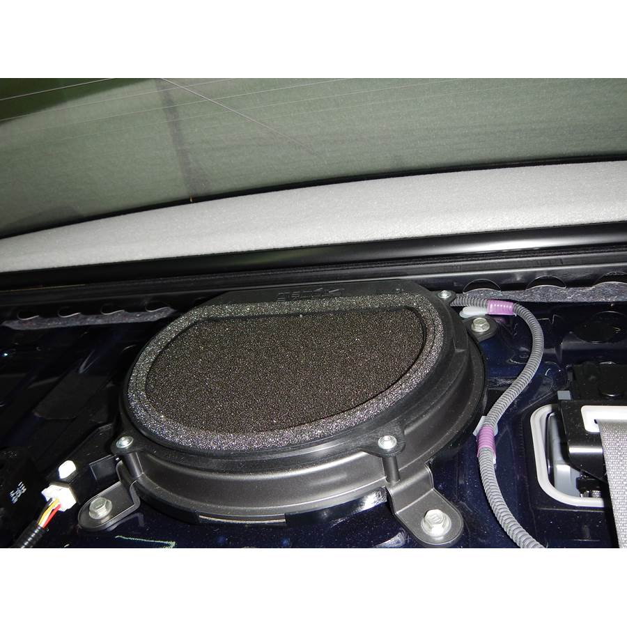 2011 Lexus LS600hL Rear deck center speaker