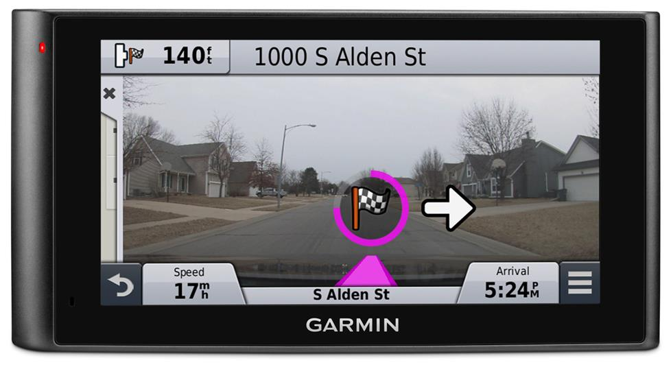 Real vision arrival on the Garmin nuviCam