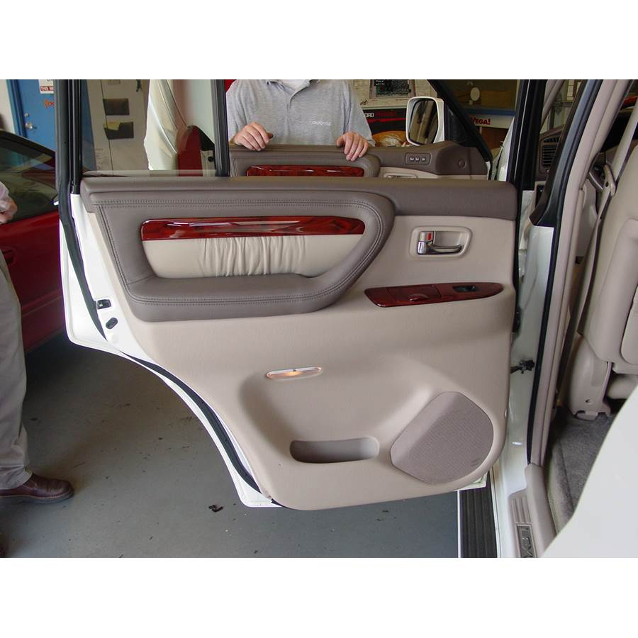 1998 Lexus LX470 Rear door speaker location